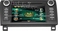Toyota Sequoia Tacoma car DVD player Radio GPS navigation system Win CE6.0