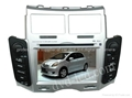 toyota yaris car dvd player  radio HD