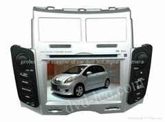 toyota yaris car dvd player  radio HD lcd GPS navigation system