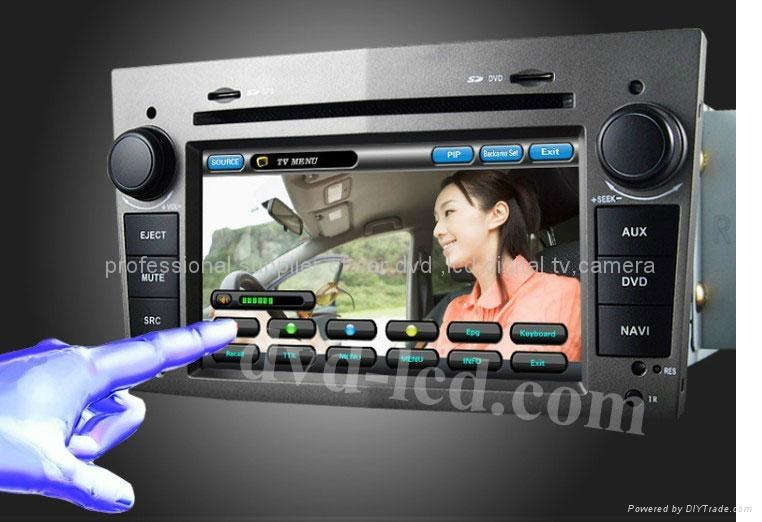 opel astra antara car dvd player radio GPS navigation system with PIP Win Ce6.0 2
