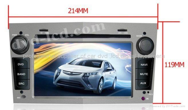opel astra antara car dvd player radio GPS navigation system with PIP Win Ce6.0 3
