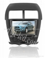Mitsubishi ASX car dvd player radio GPS navigation system with PIP Win Ce6.0 1