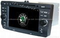 Skoda Octavia car dvd player radio GPS
