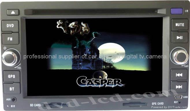 Chery A3 A5 Tiggo car dvd player radio HD lcd GPS navigation system 1