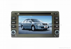 Geely Vision car dvd player radio HD lcd GPS navigation system
