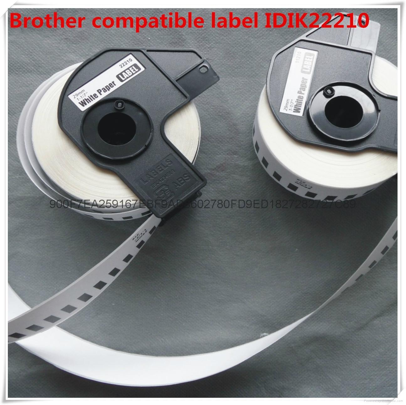 兄弟兼容label DK label22210 2