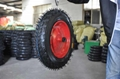 wheelbarrow/wheel barrow wheels/rubber wheels