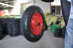 wheelbarrow/wheel barrow wheels/rubber