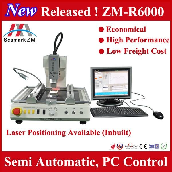 Zhuomao factory!! ZM-R6000 automatic motherboard rework station for BGA repair  1