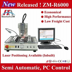 Zhuomao factory!! ZM-R6000 automatic motherboard rework station for BGA repair