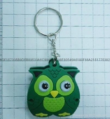 owl bobbin winder Key ring
