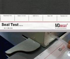 MD100進口封口機測試紙條