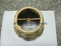 sea grass hand-made lampshade