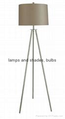 metal modern floor lamp
