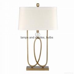 modern metal table lamp