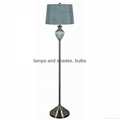 Traditional table lamp and floor lamp set    4