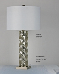 cheap mercury glass table lamp