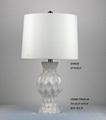white cheap ceramic table lamp