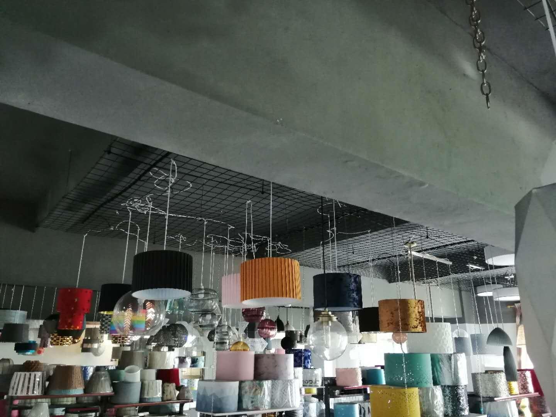 pendant lamp with hand knitting yarn 4
