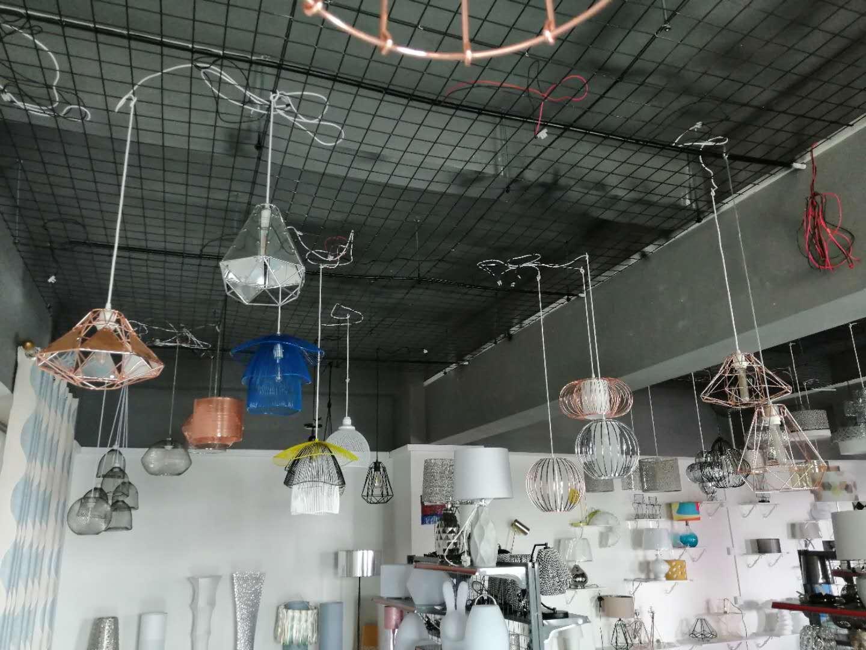 pendant lamp with hand knitting yarn 5