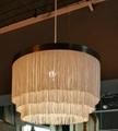Pendant Lamp with 3 Layer Fringe Lamp Shade 2