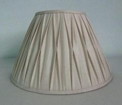 Hand-sewing fabric lampshade