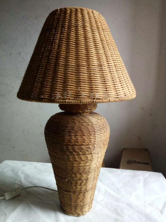 Rattan hand-weaved lampshade 3