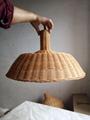 Rattan hand-weaved lampshade 4