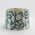 Printed pattern fabric lampshade