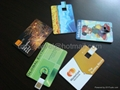 credit card usb flash memory  1
