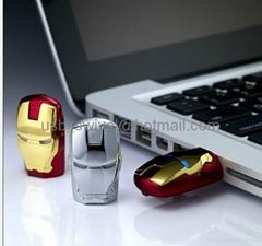 8GB Iron Man Usb flash drive the newest design 2013