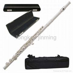 Nickel silver flute