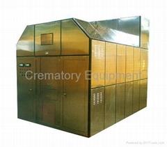 máquina de la cremación para los humanos crematorio