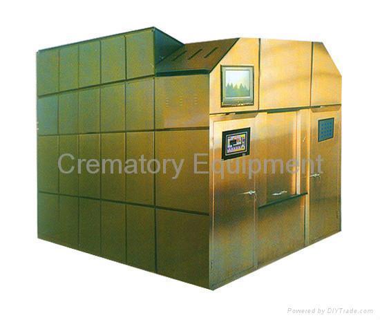 machine incinerator human cremation