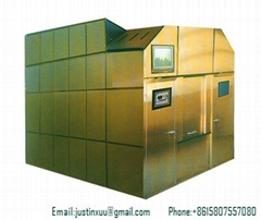 cremation system unit retort