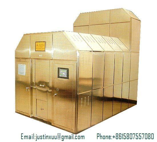 cremation automatic machine mobile designed for Poland market
