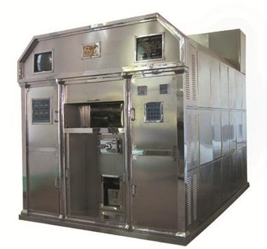 electric crematory machine cremator oven furnace