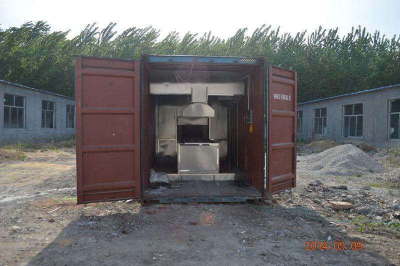 mobile crematorium cremate machine human