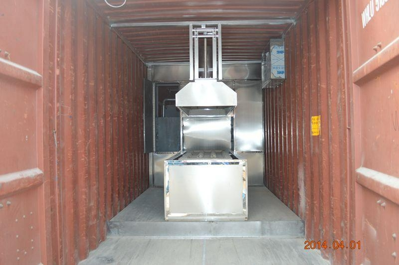 mobile crematorium incinerator cremation machine human designed for Indonesia  7