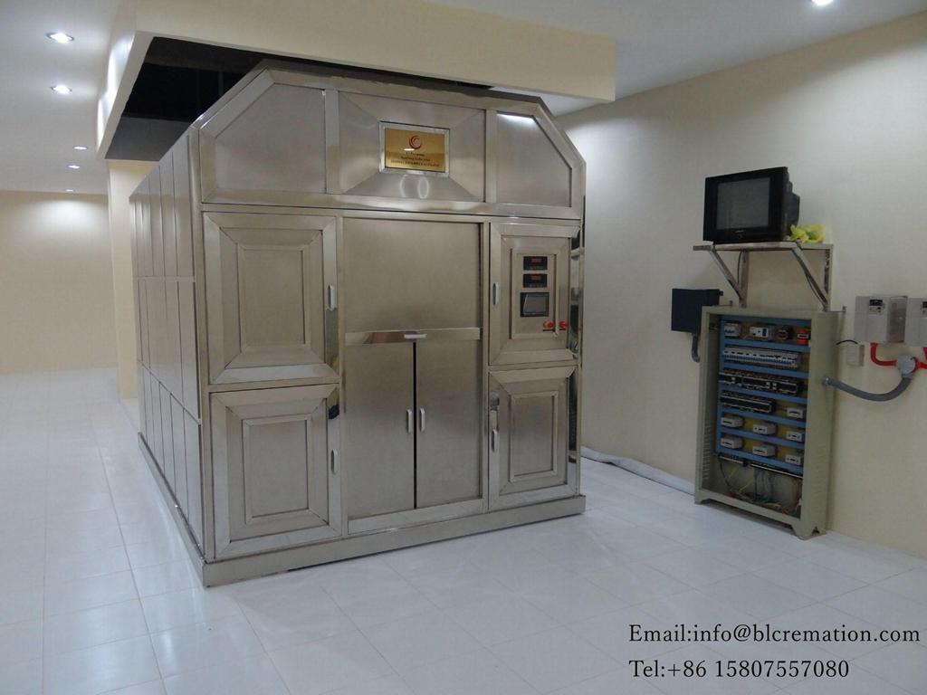 cremation furnace human crematorium furnace oven crematory machine