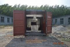 movable cremate machine crematorium