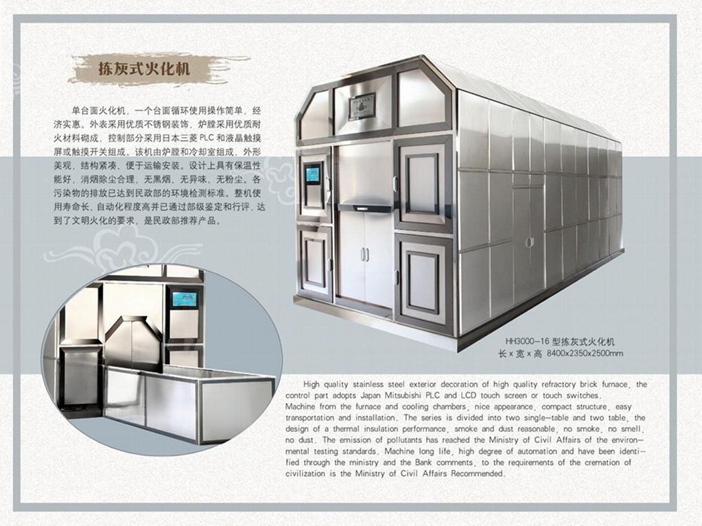 automatic system crematory