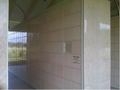columbarium vaults cinerarium niche two doors  lockers system for ash