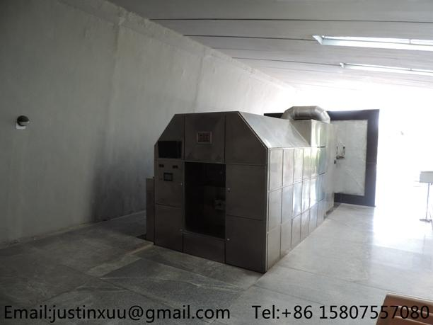 high volume cremation system from china heavy duty processing crematory no smoke 4
