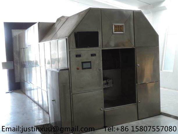 high volume cremation system from china heavy duty processing crematory no smoke 5