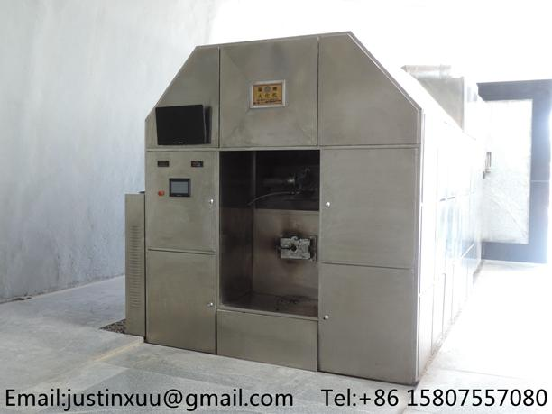 high volume cremation system from china heavy duty processing crematory no smoke 7