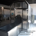 high volume human cremation retort system furnace from china automatic loading