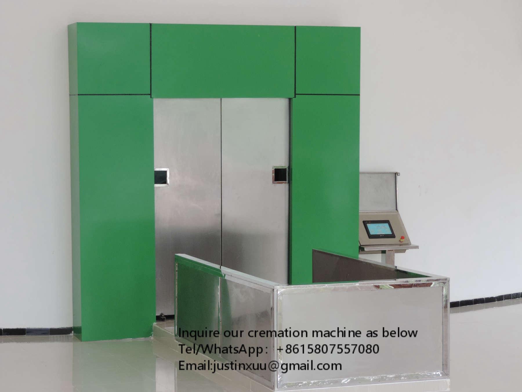 Crematorium Machine for sale from china  designed for Columbia market 3