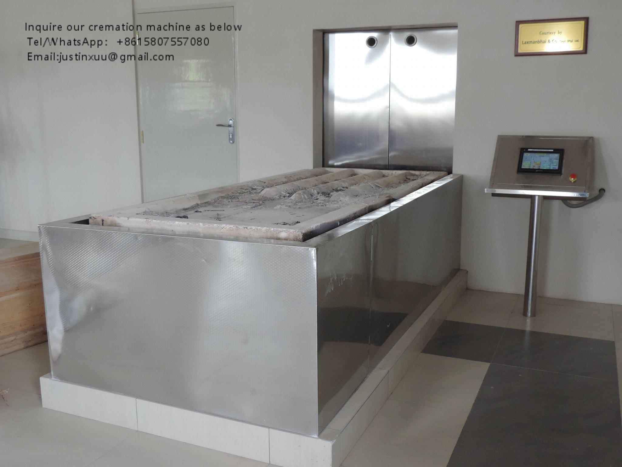 sell human crematorium portable machine equipment fast buring crematory 10