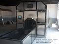 Portable Cremation Container for Human Cremate Death Bodies Machine No Smoke No